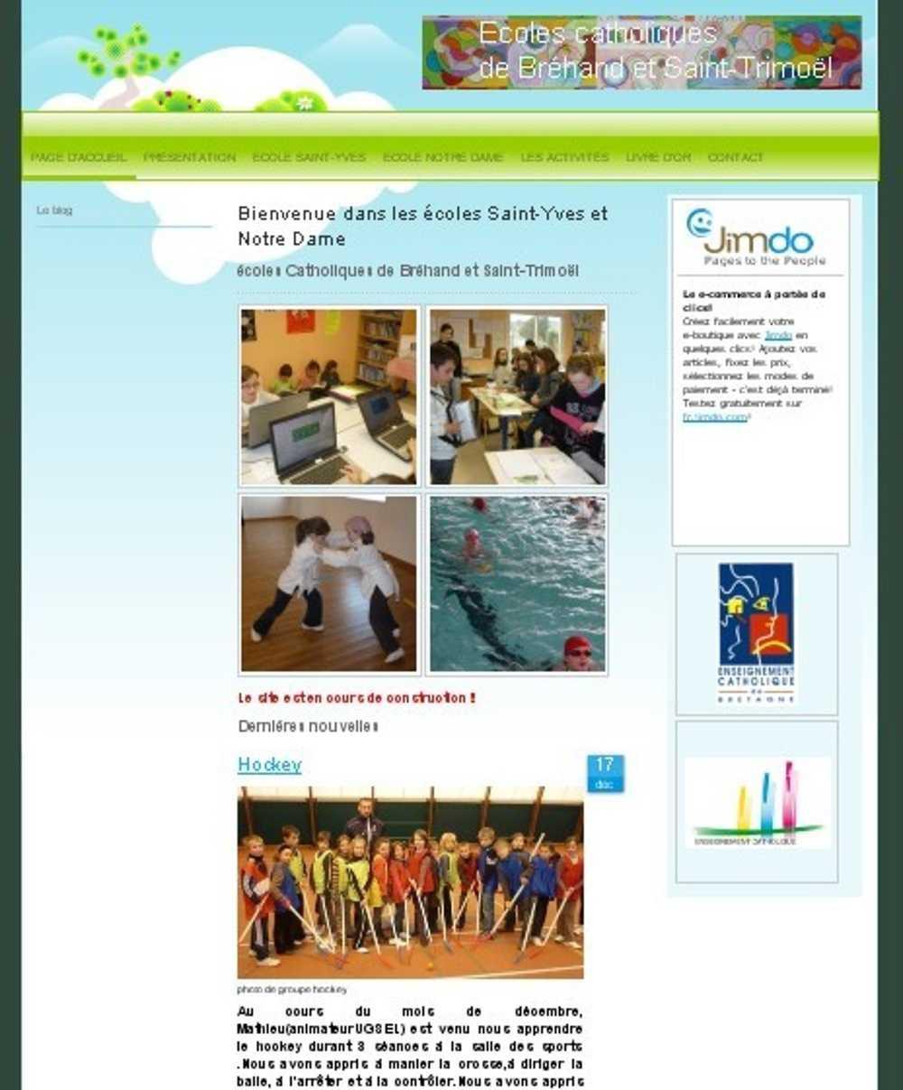 Un site Internet pour l''école 0